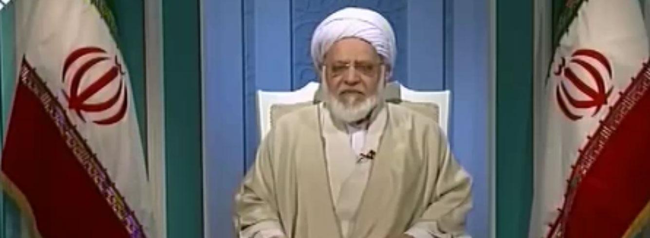 تصویر نطق انتخاباتی مصباحیمقدم در رسانه ملی