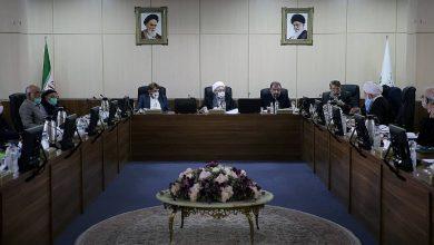 تصویر موادی از قانون انتخابات ریاست جمهوری در هیئت عالی نظارت مجمع تشخیص مصلحت نظام بررسی شد.