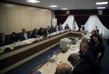 تصویر نشست مشترک کمیسیون زیربنایی و تولیدی مجمع و رؤسای دانشکده ها و دستگاه های اجرایی بخش معدن کشور برگزار شد.